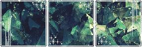 F2U|Decor| Aquamarine Crystal
