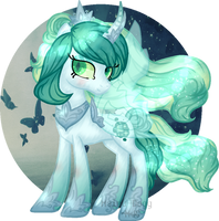 Princess Chrysalis|MLP AU|Nightverse AU by Mairu-Doggy