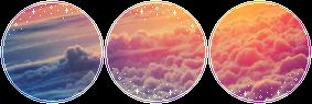 F2U|Decor|Pink Sky by Mairu-Doggy