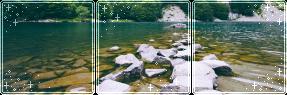 F2U|Decor|Blue Lake #2