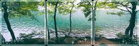 F2U|Decor|Blue Lake #3