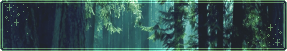 F2U|Decor|Teal Forest #6 by Mairu-Doggy