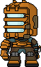 Dead Space: Chibi Isaac Clarke by Deathbringer22