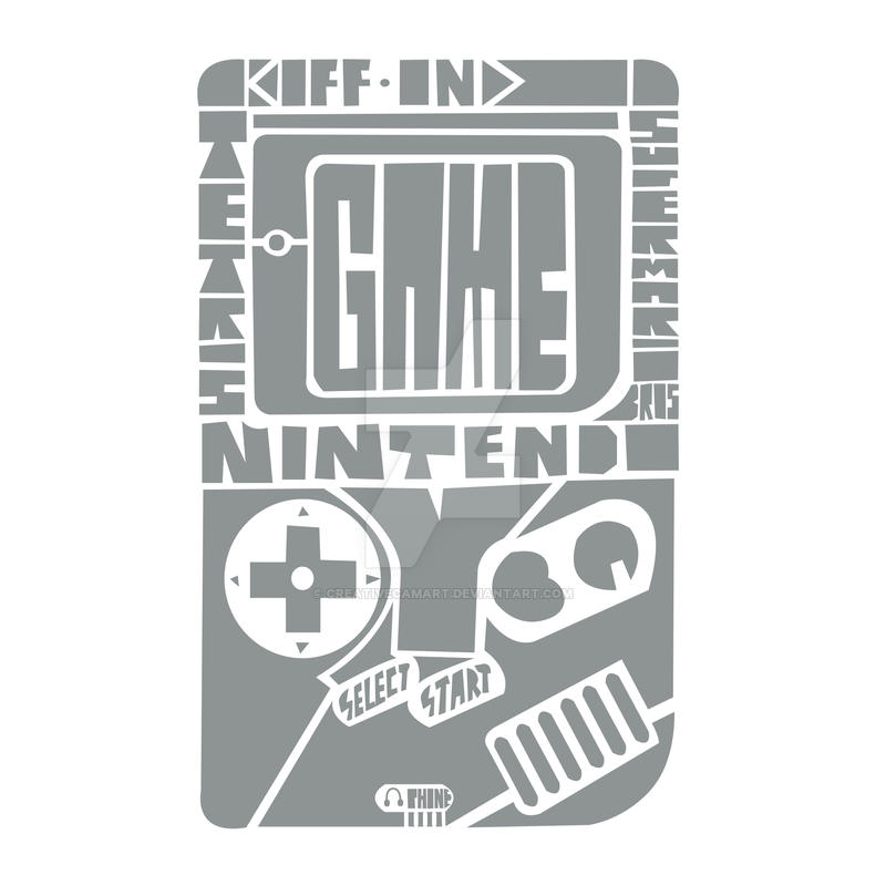 Gameboy by CreativeCamArt