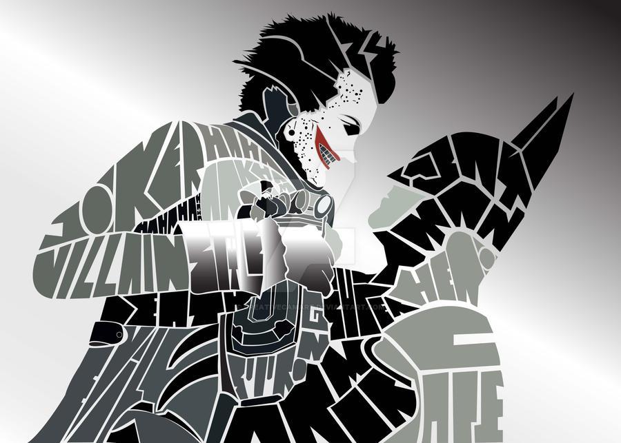 batman vs joker by creativecamart on deviantart