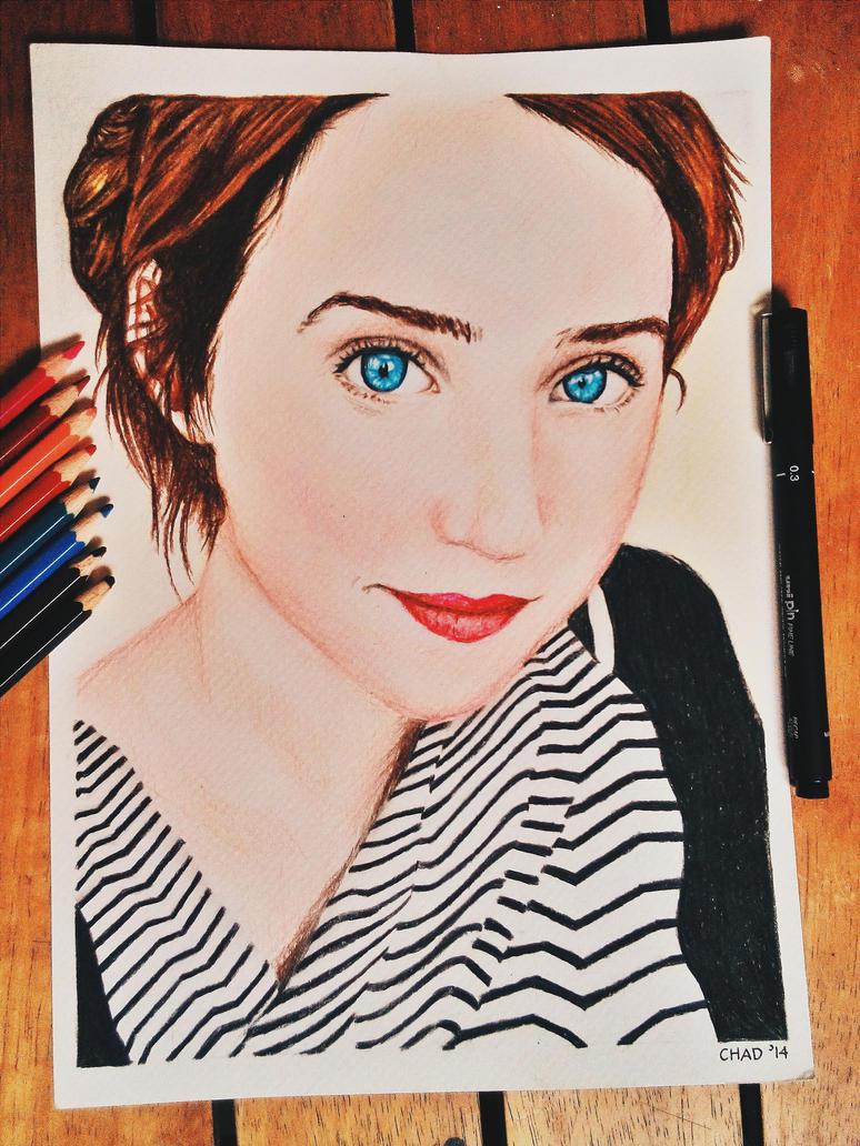 Zoe Kazan Portrait  D ...