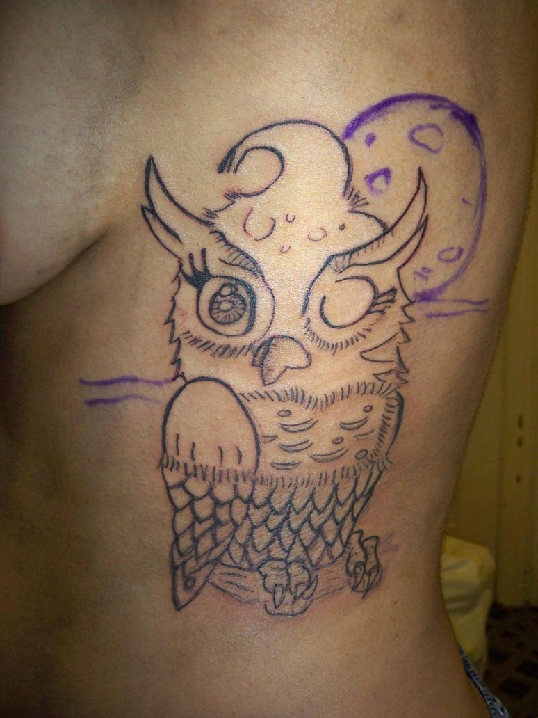 Pornostar Lilu Tattoo