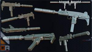 Weapons : Uzi by WARxSnake