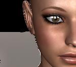female face stock