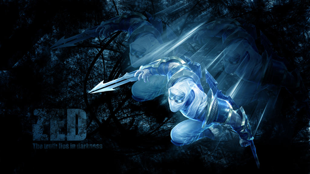 gallery for zed and nocturne wallpaper