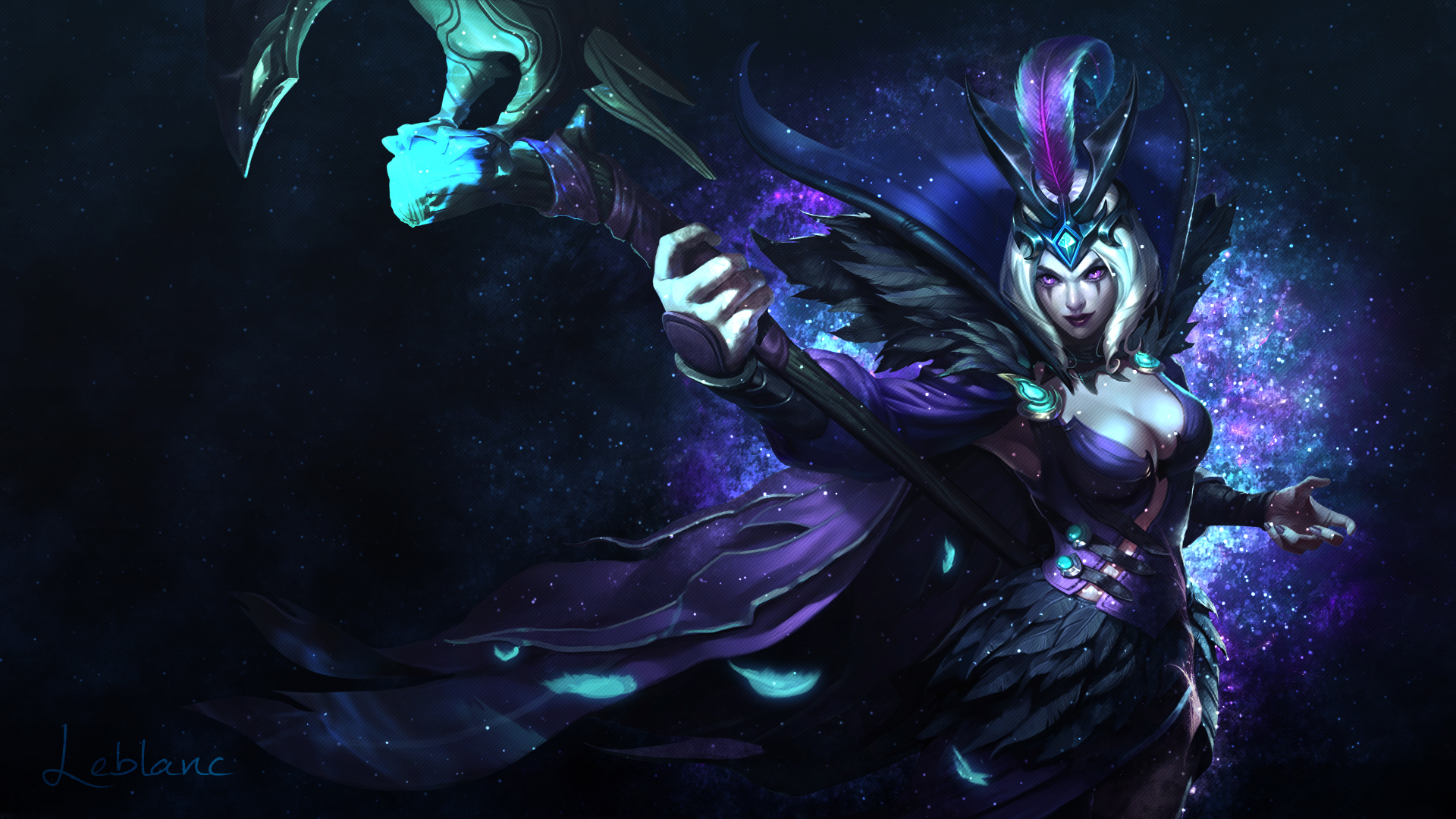 leblanc chat When leblanc drops below 40% health, she becomes invisible for 1 second and creates a mirror image that deals no damage and lasts for up to 8 seconds.