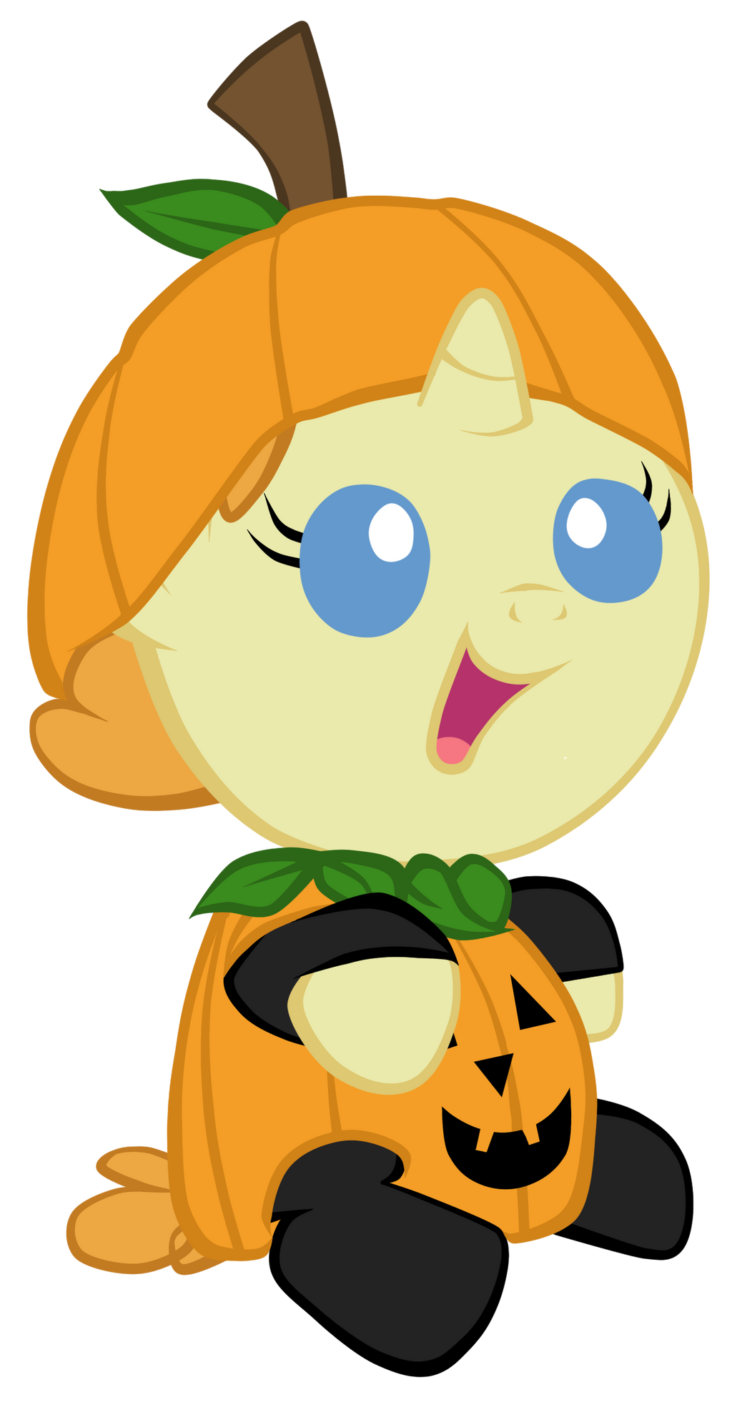 Pumpkin Pony by Astanine