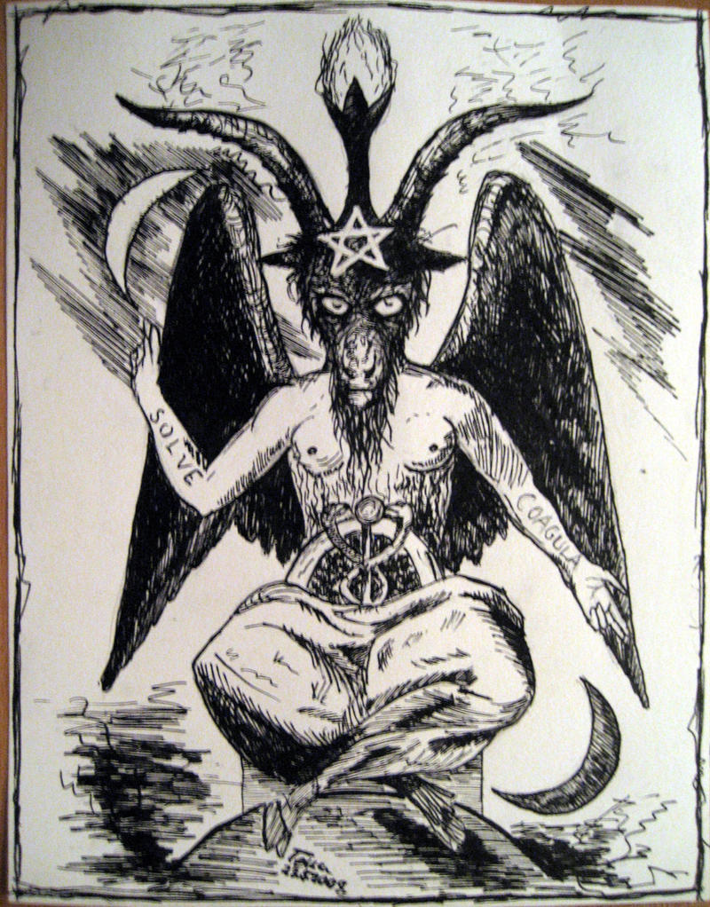 <b>Baphomet</b> by shapudl on DeviantArt
