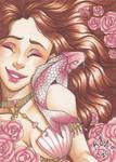 Mermay #1 Rose Mermaid by TheElfsCauldron