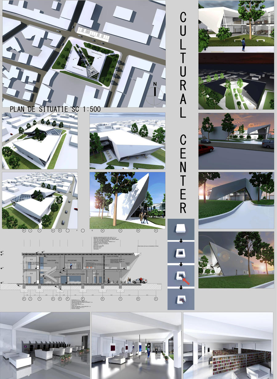 Cultural Center by vssh