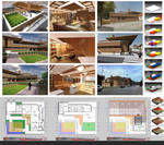 HOUSE CONCEPT-FRANK LLOYD WRIGHT STYLE layout 1 by vssh
