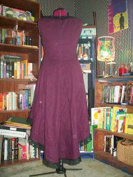 Plum Dress Back