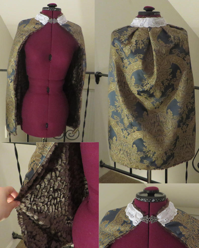 Princess Cloak by Nerds-and-Corsets
