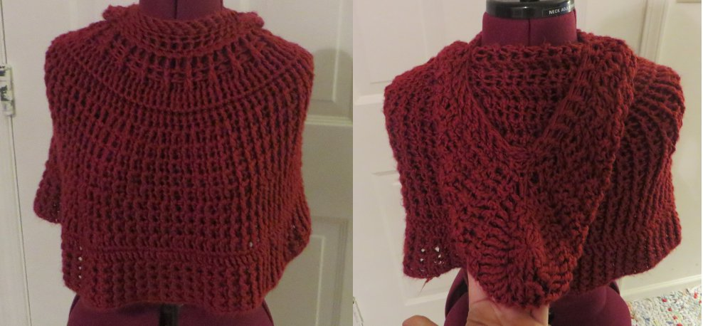 Red Hooded Capelett by Nerds-and-Corsets