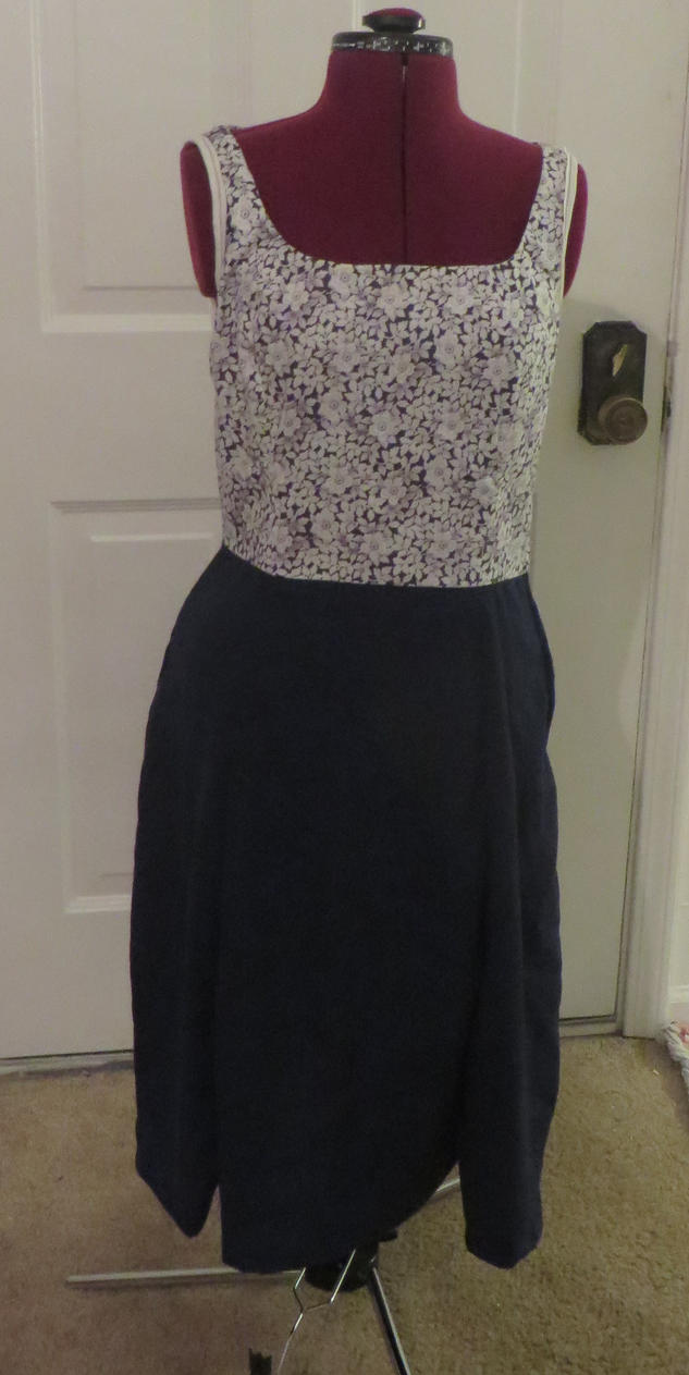 Fun and simple spring dress by Nerds-and-Corsets