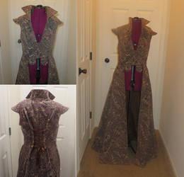 Overcoat for steampunk/ren faire