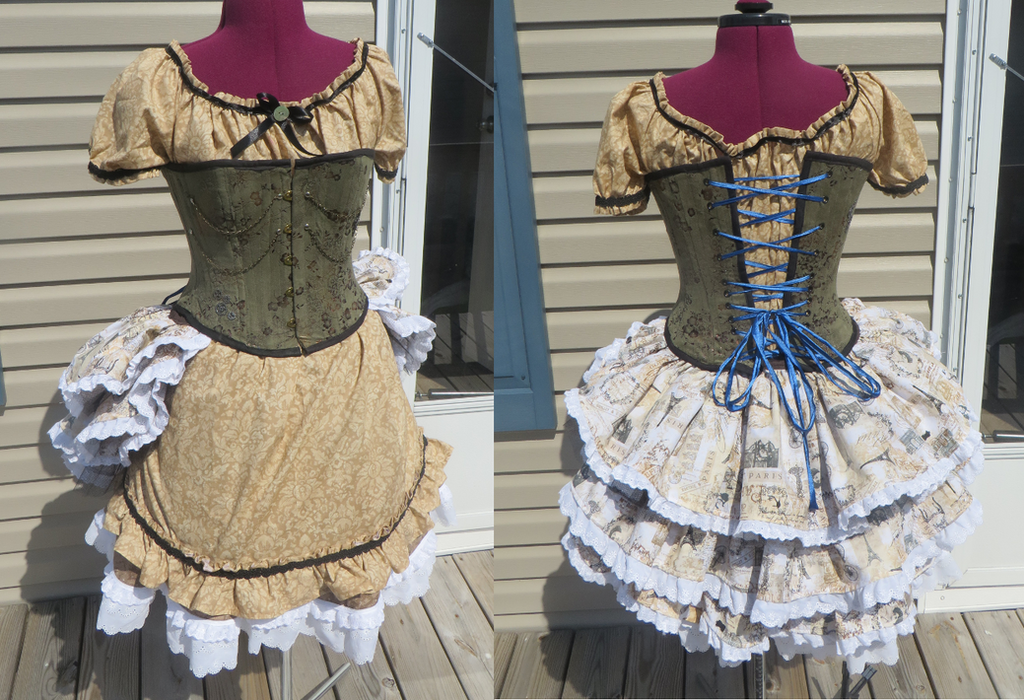 Steampunk Outfit by Nerds-and-Corsets