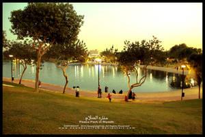Peace Park in Riyadh