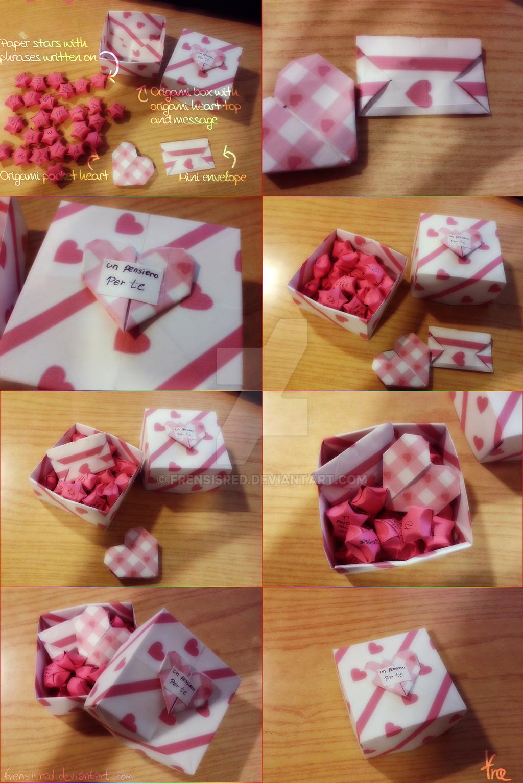 Handmade Valentine Gift The Heart Gift Box By Frensisred On Deviantart