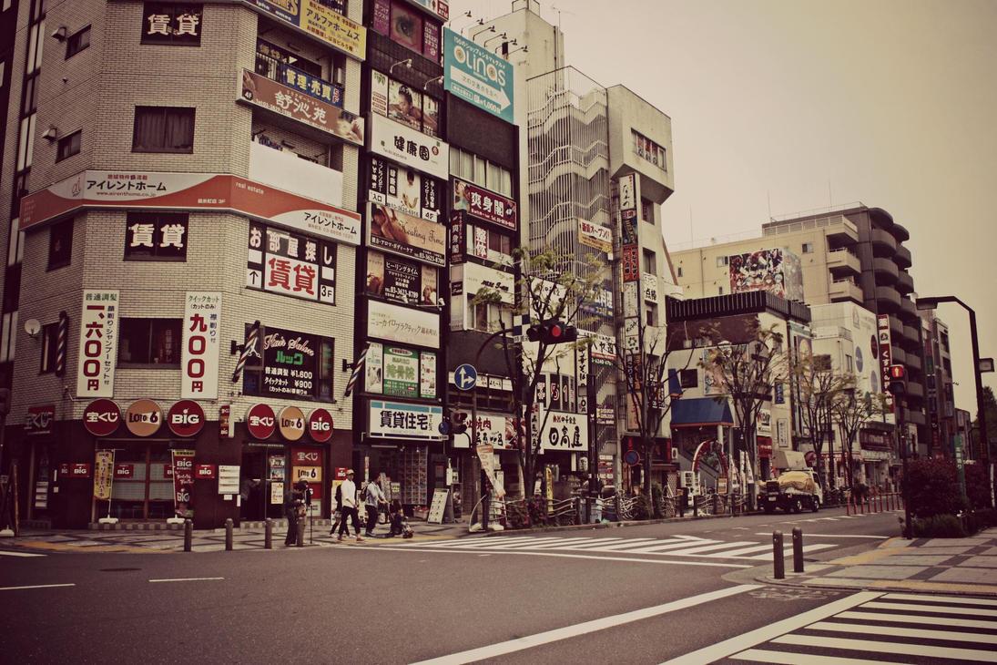 Junction in Japan by pinkshoo