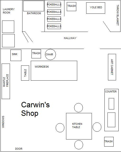 Carwin 39 s shop layout by csolarstorm on deviantart for Truck repair shop floor plans