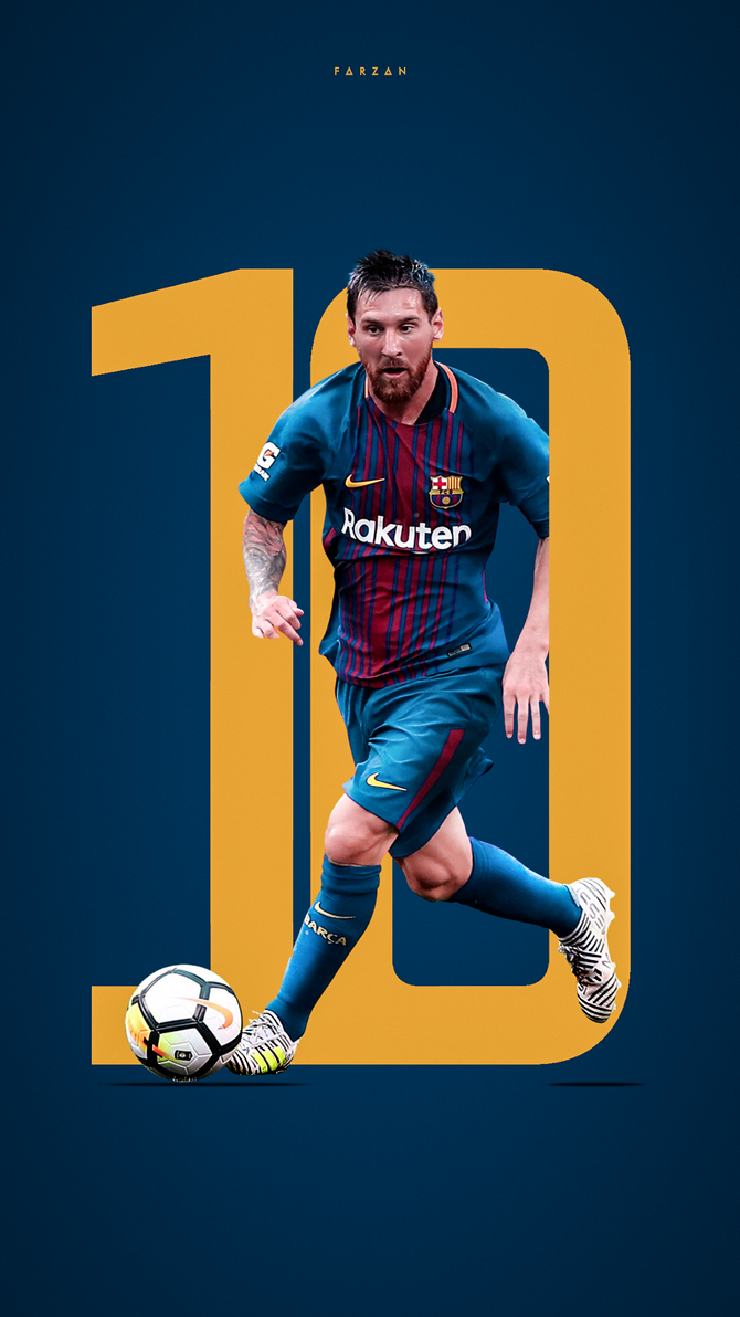 Messi 2017 By F5Designs