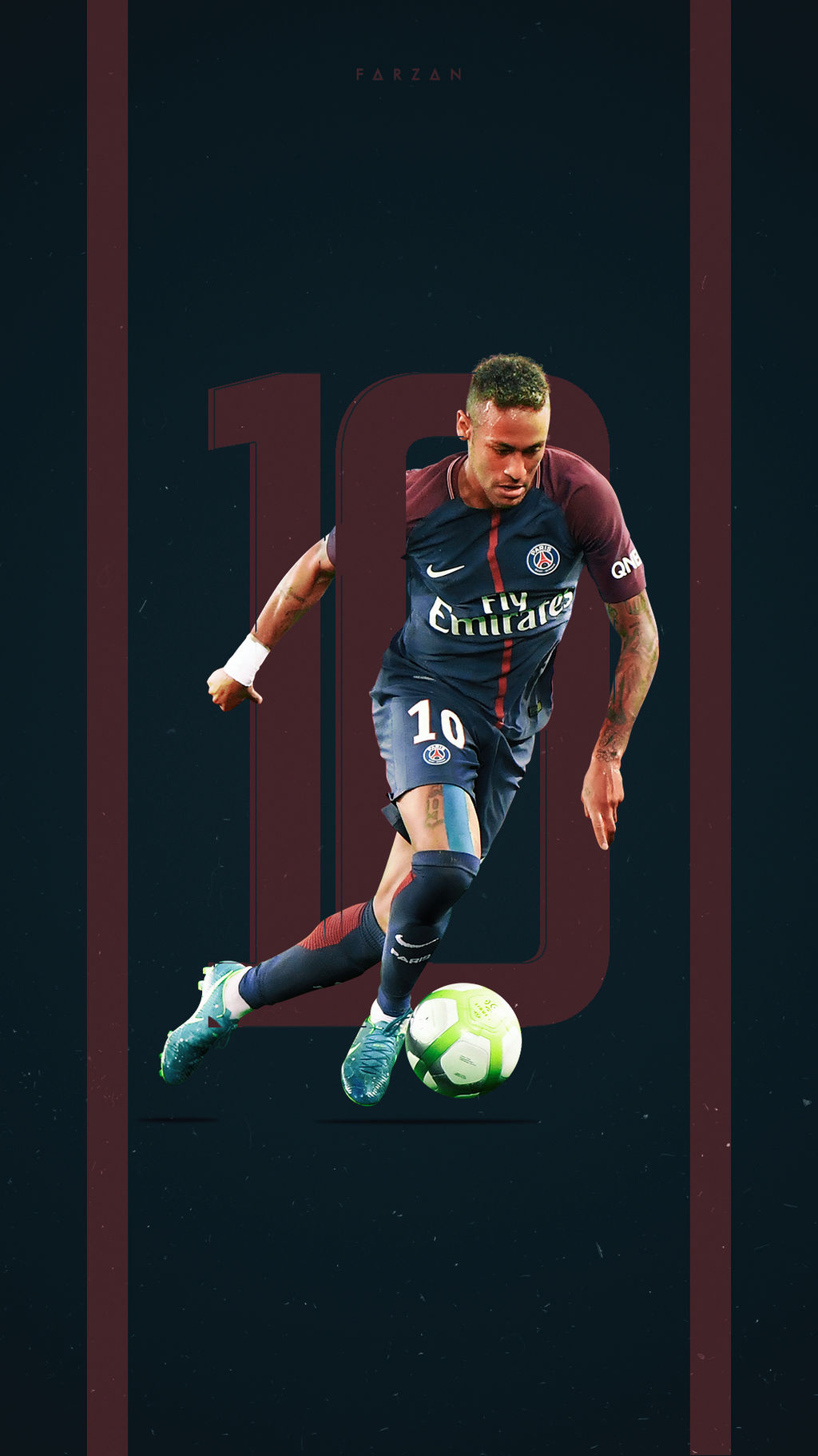 Neymar PSG 2017 by F5Designs on DeviantArt