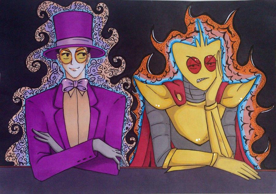 Caesar Clown [color] by deni-verissimo on DeviantArt