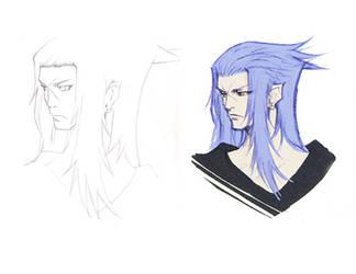 Saix Sketch by BlackStar2661
