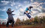Amon and avatar korra - honduras by team-cosplay-hn