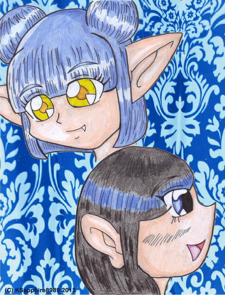 Duo Ceruleans by KSapphire8989