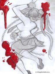 'Powerless' Kitty Sapphire pt. 2 by KSapphire8989