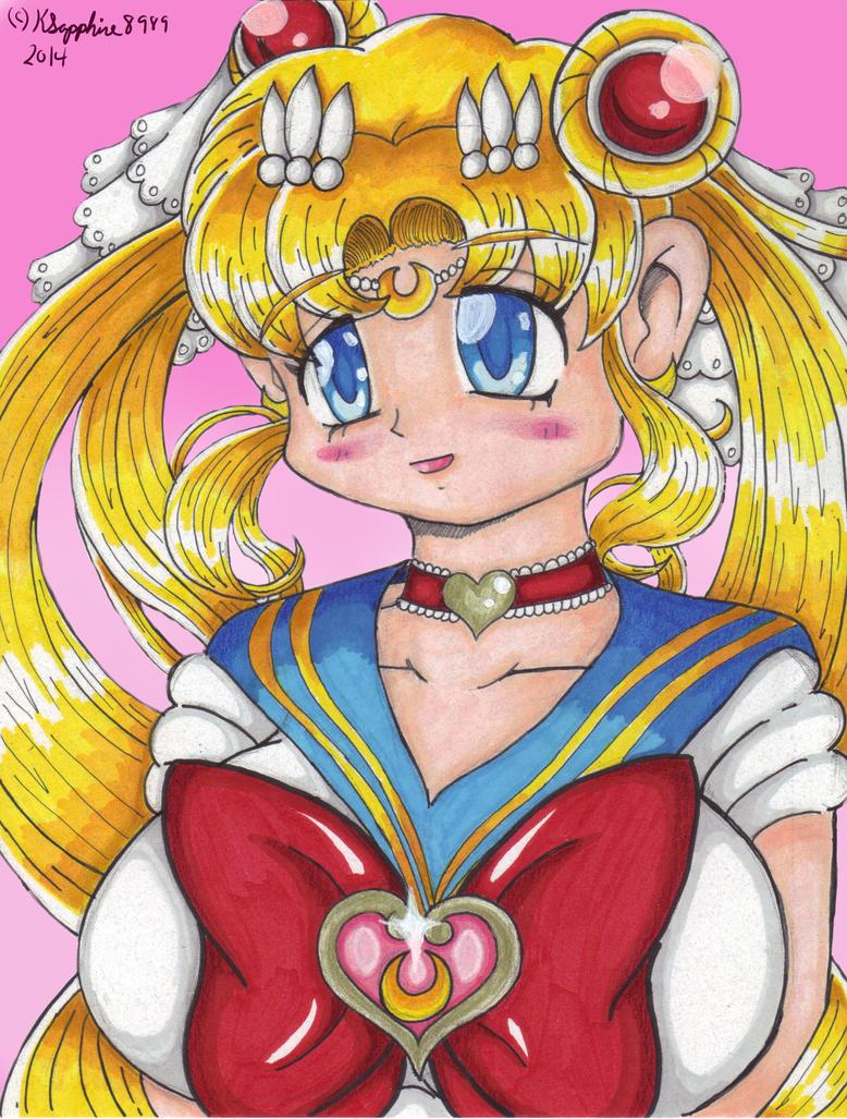 Inspiration #3 Sailor Moon by KSapphire8989