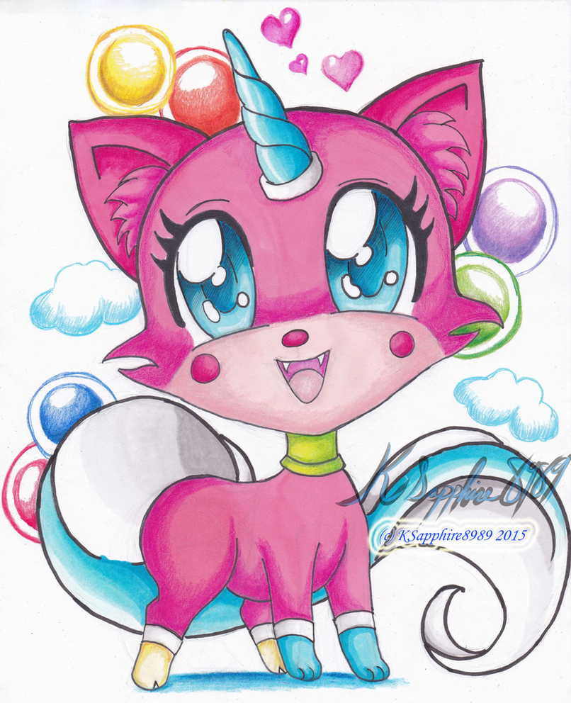 Chibi Princess Unikitty By KSapphire8989