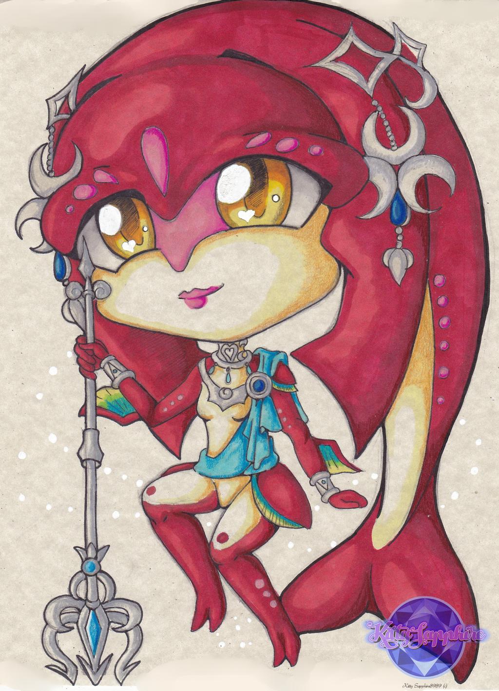 Chibi Mipha  by KSapphire8989