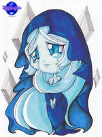 Chibi Blue Diamond  by KSapphire8989