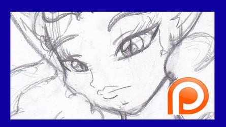 Patreon: Kitten Kitana II preview sketch