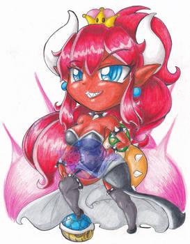 Chibi Bowsette