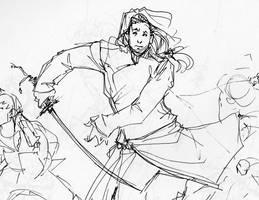 Winter Sketchbook - Uzuki II