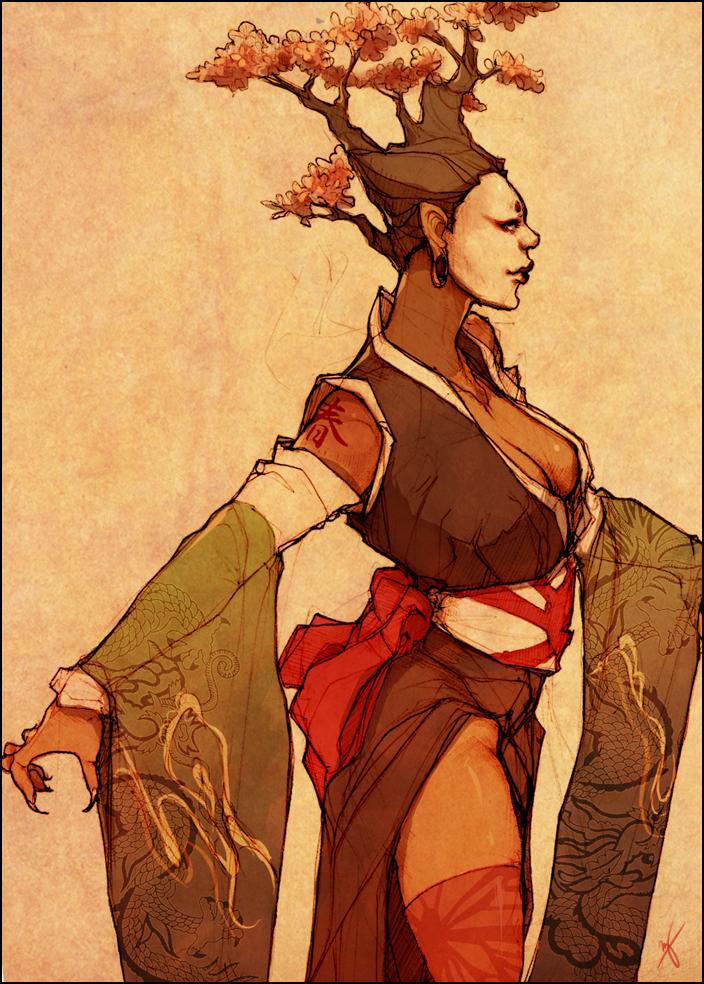 Geisha by LMJWorks