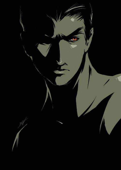 Kazuya Mishima Scrap II by LMJWorks