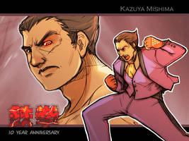 Tekken 10th Anniversary III by LMJWorks