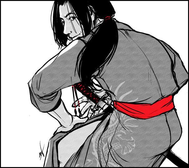 Jin Uzuki by LMJWorks
