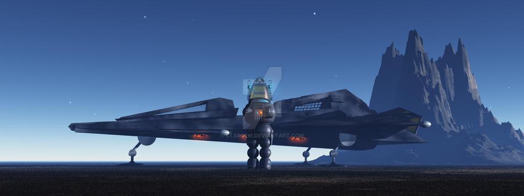 Robbies Starship by Stargem