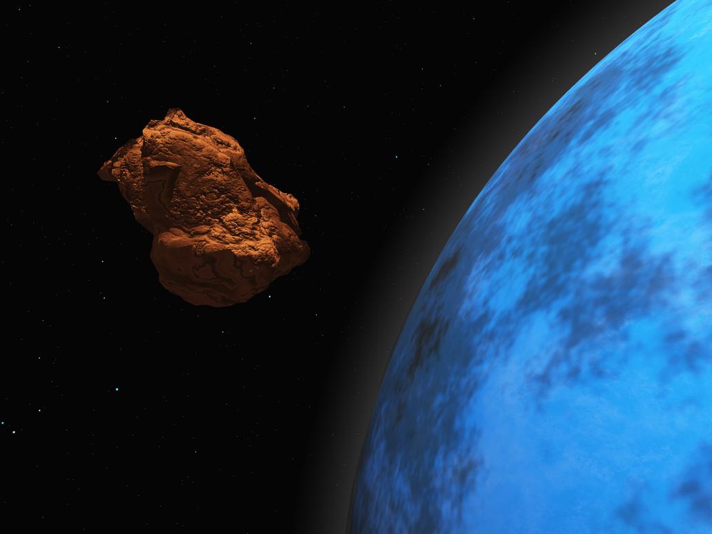 Happy Halloween Asteroid by Stargem